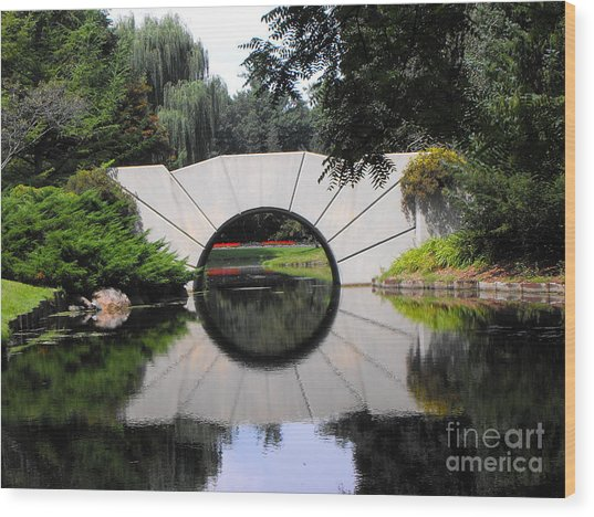 Sunshine Bridge Wood Print
