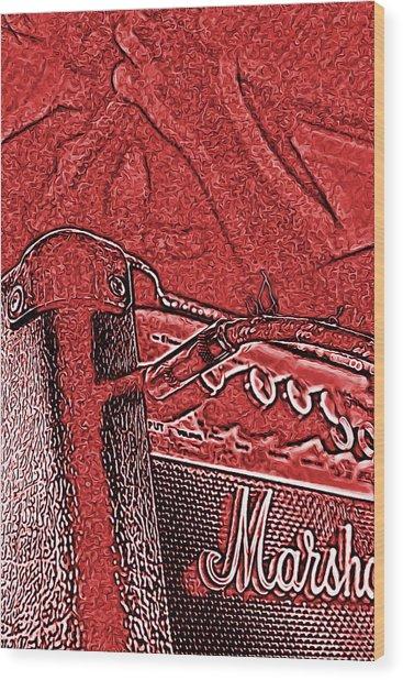 Super Grainy Marshall Wood Print