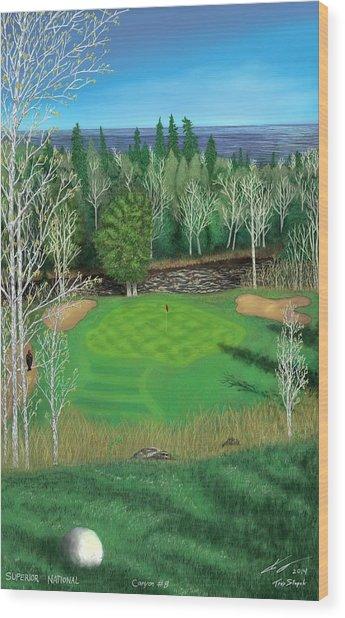 Superior National Golf Canyon 8 Wood Print