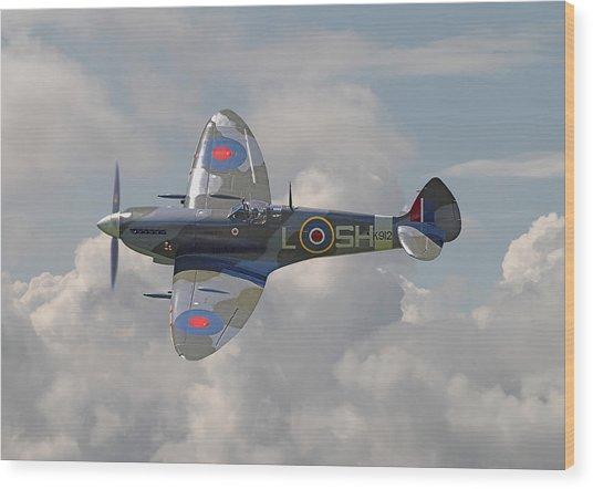 Supermarine Spitfire Wood Print