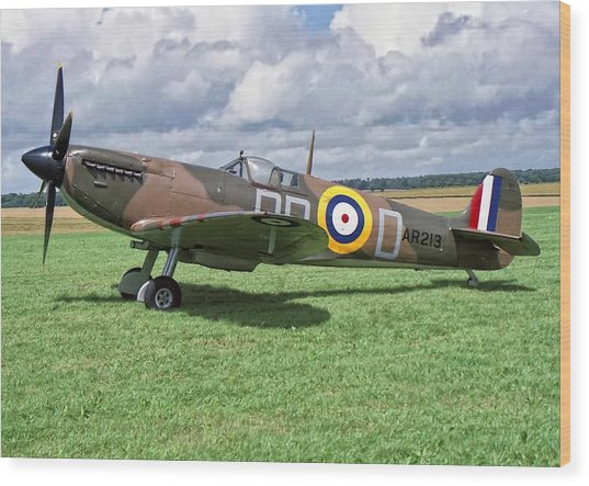 Supermarine Spitifire 1a Wood Print