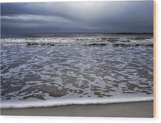 Surf And Beach Wood Print