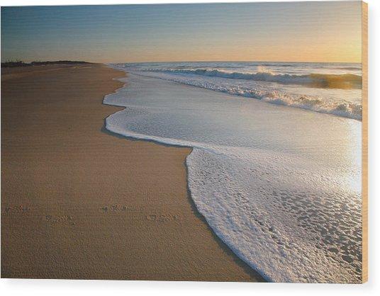 Surf And Sand Wood Print