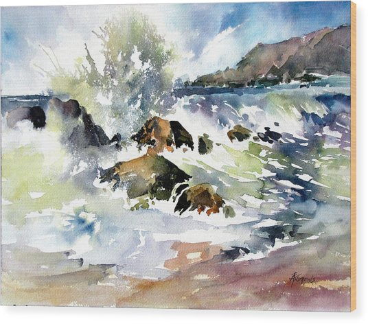 Surfside Crescendo Wood Print