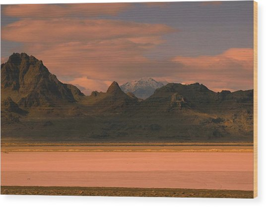 Surreal Mountains In Utah #4 Wood Print