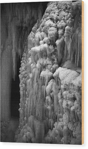 Suspended Wood Print