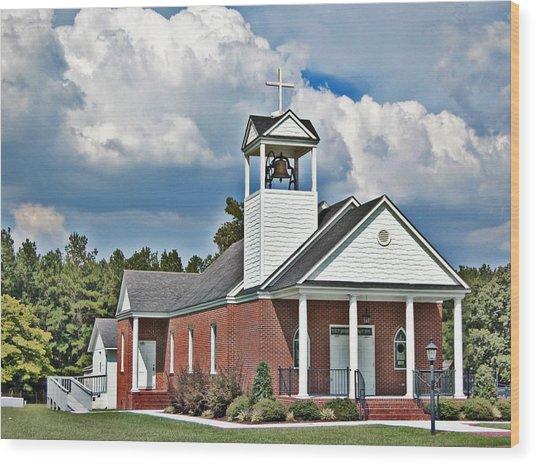 Suttons United Methodist Wood Print