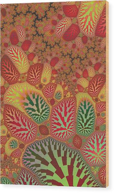 Swamped Wood Print
