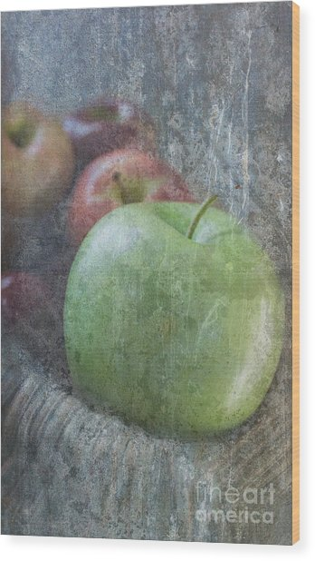 Sweet Apples Wood Print