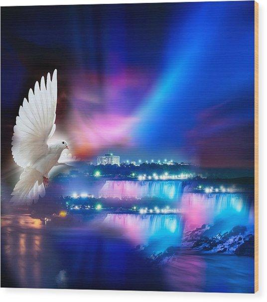 Sweet Holy Spirit Wood Print