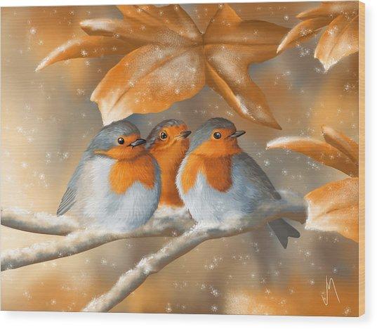 Sweet Nature Wood Print