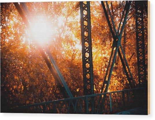 Sweet Water Creek Wood Print