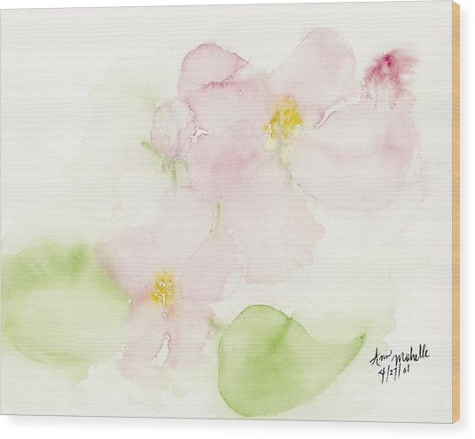 Sweetest Blossoms Of Spring Wood Print