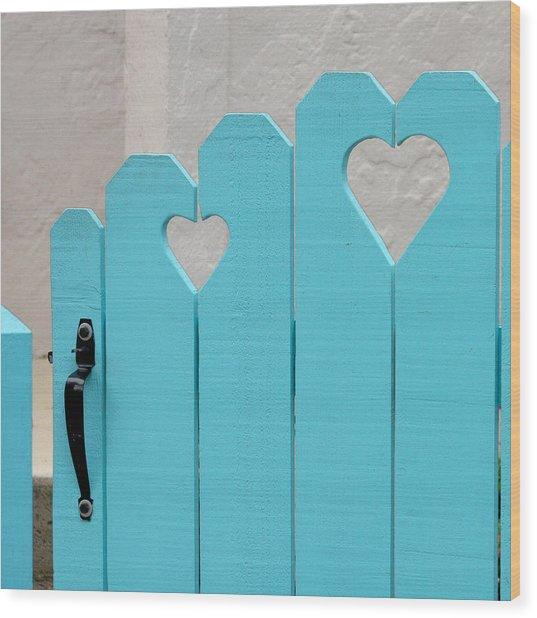 Sweetheart Gate Wood Print