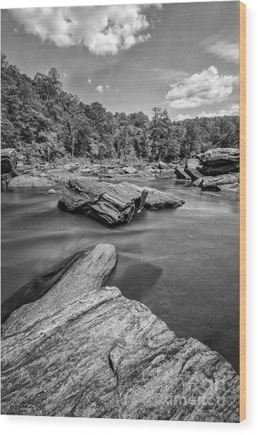 Sweetwater Creek II Wood Print