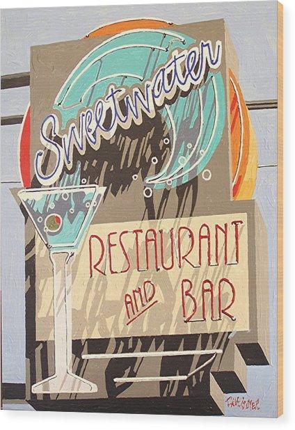Sweetwater Wood Print by Paul Guyer