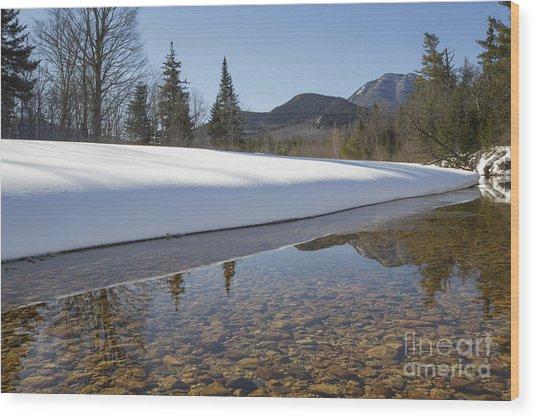 Swift River - Albany New Hampshire Usa Wood Print