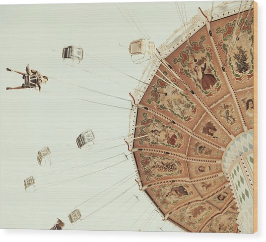 Swings Wood Print