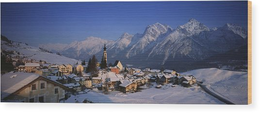 Switzerland Wood Print