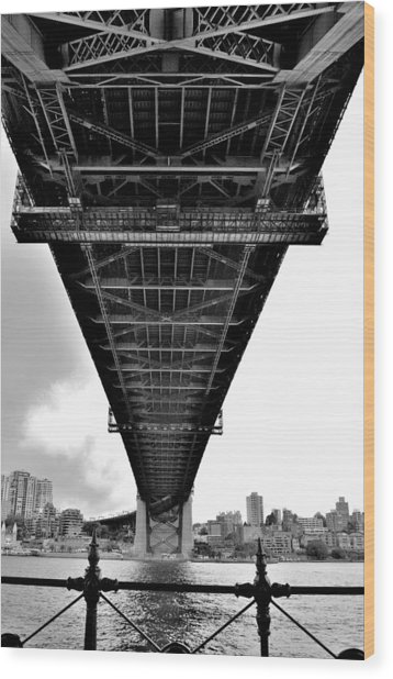 Sydney Bridge 2 - Sydney - Australia Wood Print