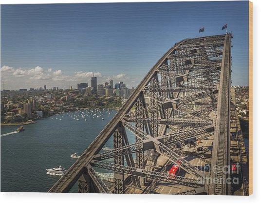 Sydney Harbour Bridge Wood Print
