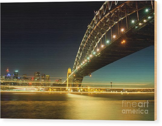 Sydney Harbour Bridge Wood Print