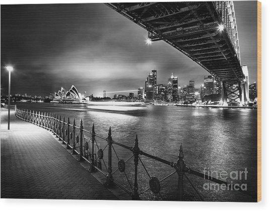 Sydney Harbour Ferries Wood Print