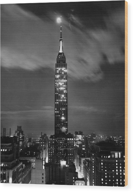 New York City Wood Print by Retro Images Archive