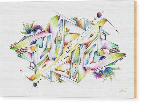 Symplexity Wood Print