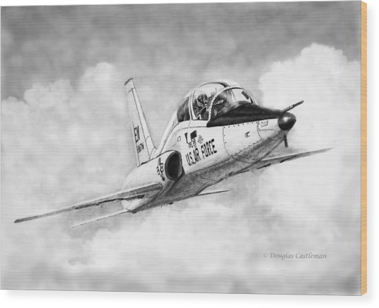 T-38 Talon Wood Print