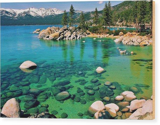 Tahoe Bliss Wood Print