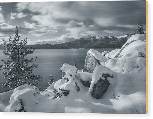 Tahoe Wonderland Wood Print