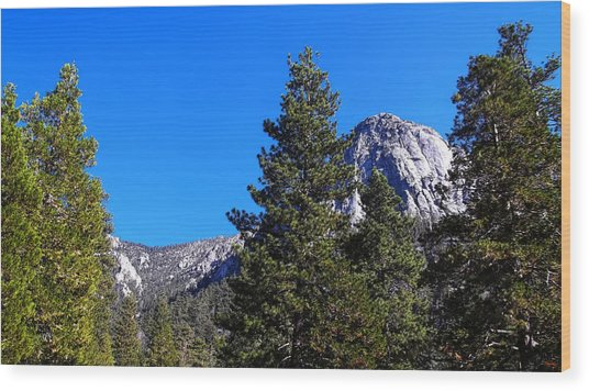 Tahquitz Rock - Lily Rock Wood Print