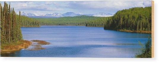 Talkeetna Lake, Alaska Wood Print