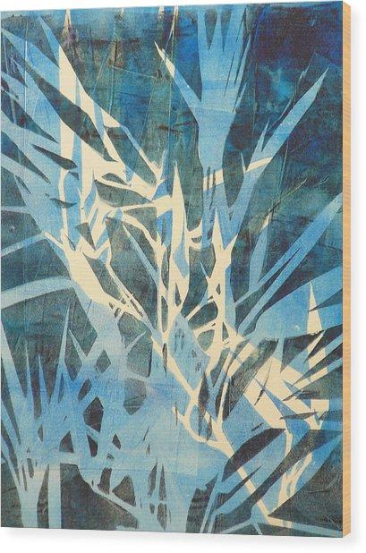 Tall Grass 2 Wood Print by Valerie Lynch