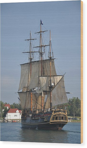 Tall Ship 1 Wood Print