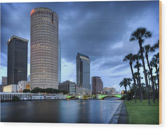 Tampa 1 Wood Print