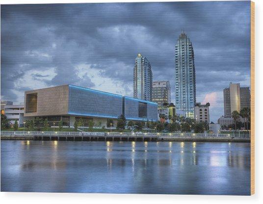 Tampa Museum Of Art Wood Print