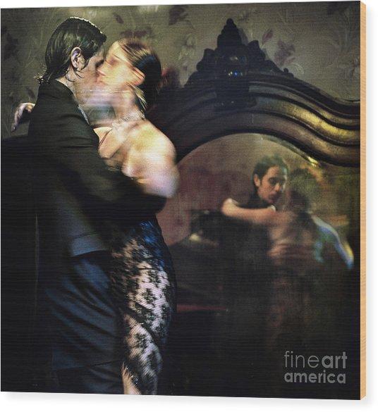 Tango - Mirrored Wood Print