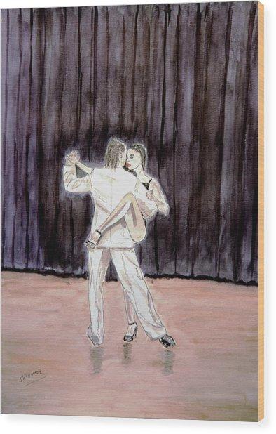 Tango Passion. Wood Print