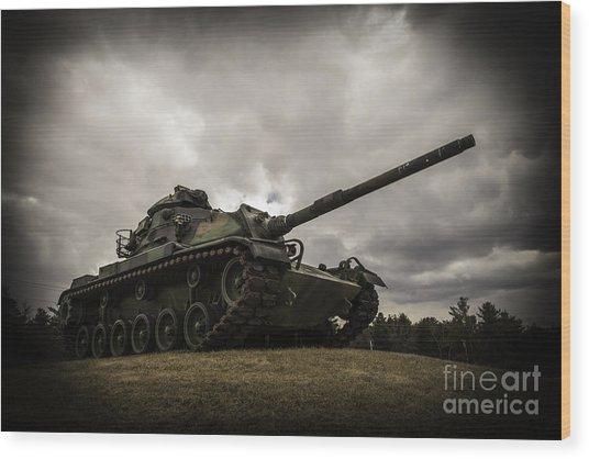 Tank World War 2 Wood Print