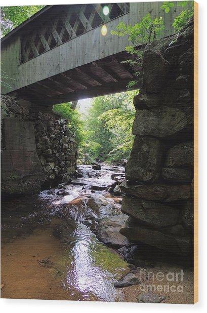 Tannery Hill Bridge Wood Print