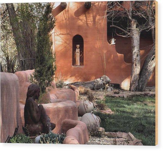 Taos Dreamers Wood Print