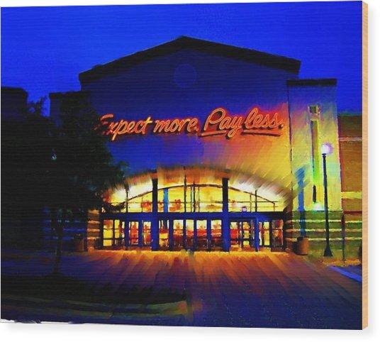 Target Super Store C Wood Print