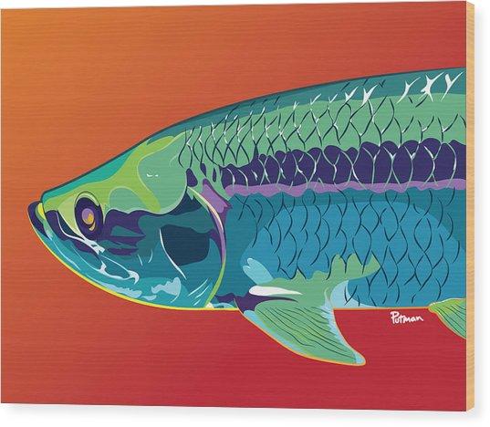 Tarpon Colors Wood Print