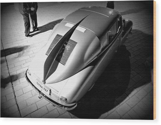Tatra Noir Wood Print