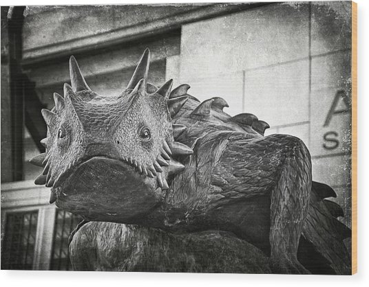 Tcu Horned Frog 2014 Wood Print