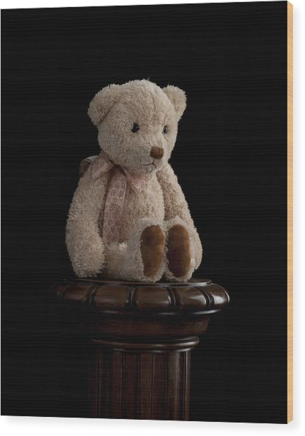 Teddy Bear Wood Print