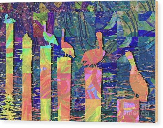 Tee Many Martoonies Wood Print