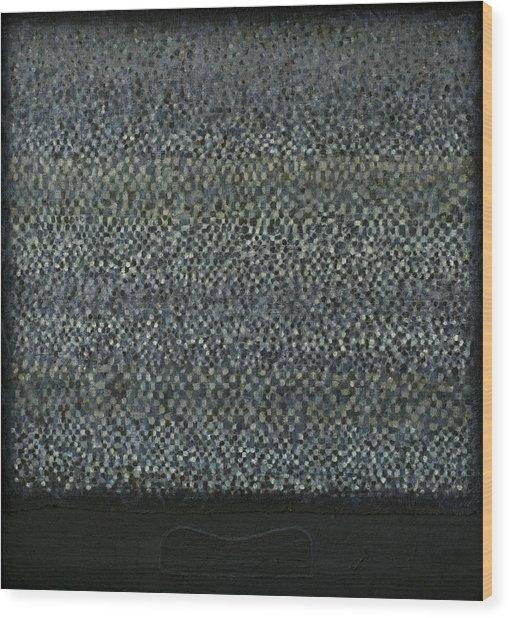 Television-pillow Wood Print by Oni Kerrtu